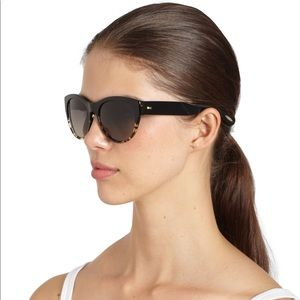 Oliver Peoples Cat Eye Tortoise Shell Sunglasses
